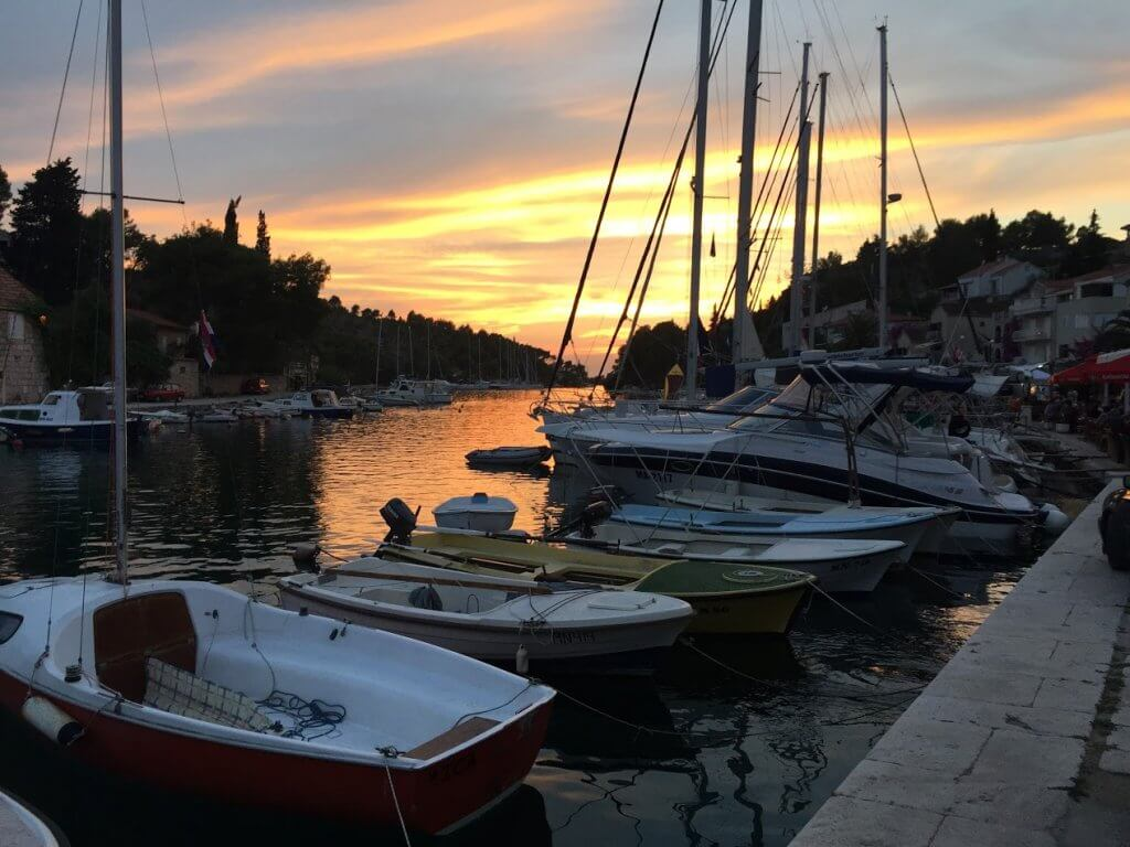 Bobovišća Croatia - Sailing route Croatia
