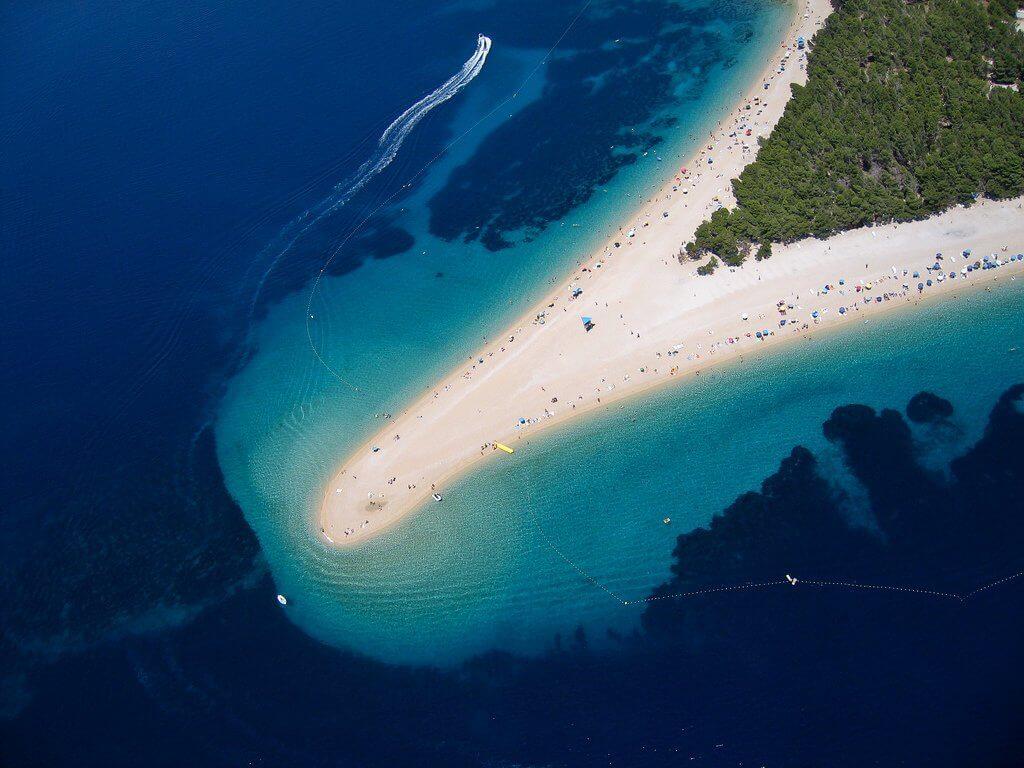 Zlatni Rat - Sailing route Croatia