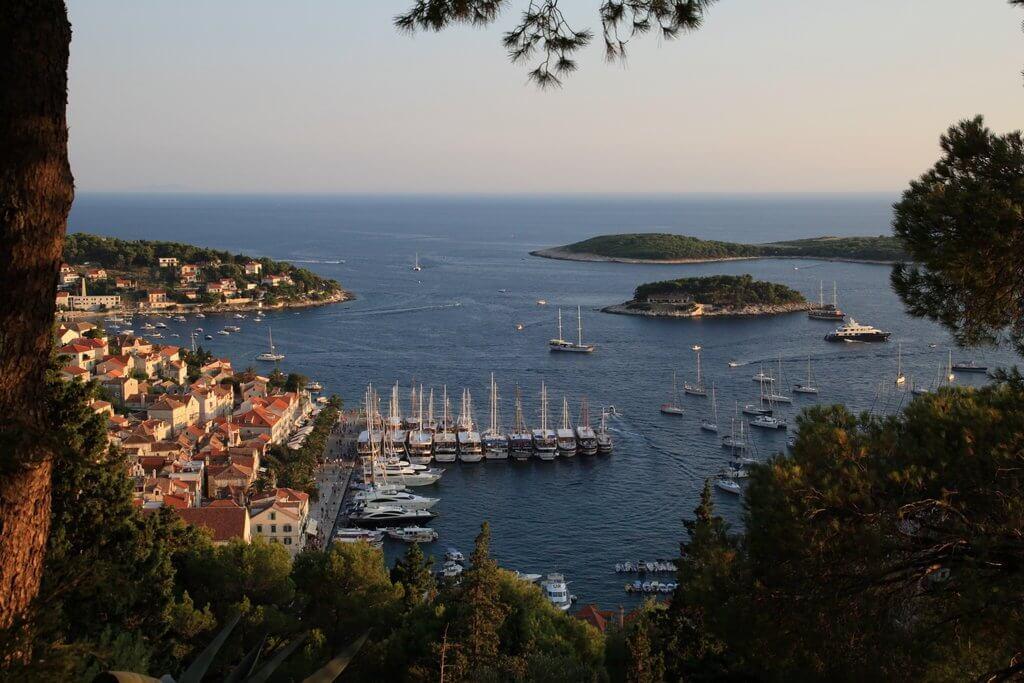 Hvar - Sailing route Croatia