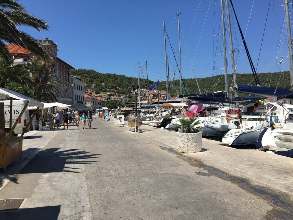 Vis, Vis - Sailing route Croatia
